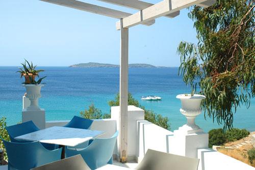 aneroussa beach hotel grece cyclades mykonos