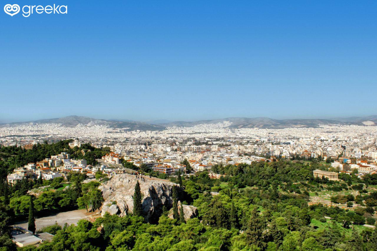 Geography of Athens, Greece - Greeka com