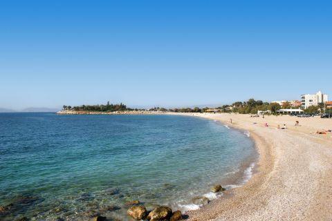 Glyfada beach.