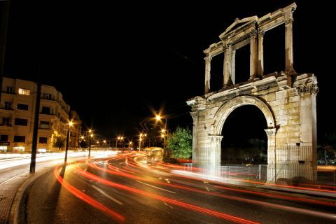 The Arch of Hadrian.