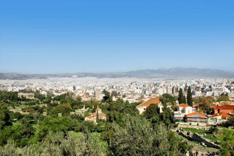 Athens city view.