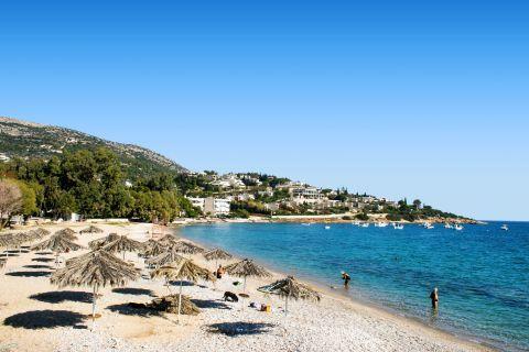 Agios Spiridonas beach, Porto Rafti.