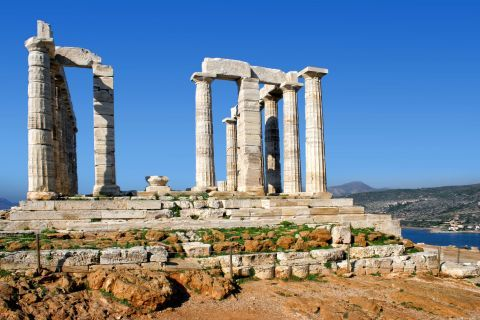 Poseidon temple, Sounion.