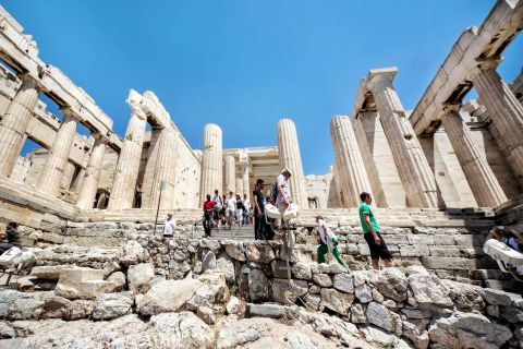 A visit to the Acropolis of Athens.