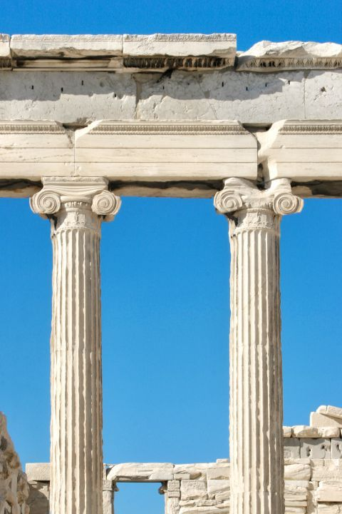 The Erechtheion: An impressive, Ionic temple