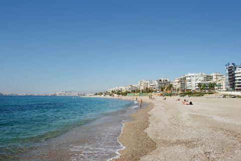 Alimos beach.