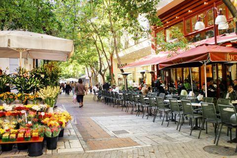 Ermou street, Athens.