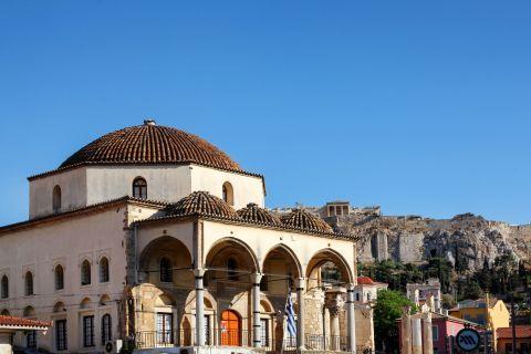 A traditional, Orthodox church on Monastiraki square.