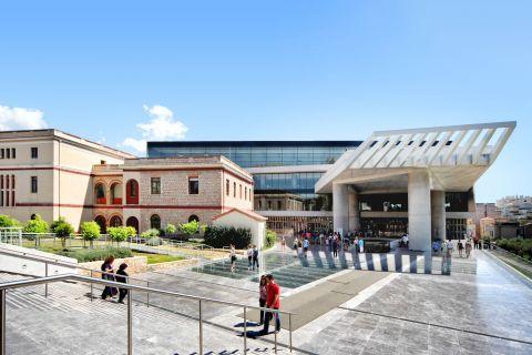 The Acropolis Museum.