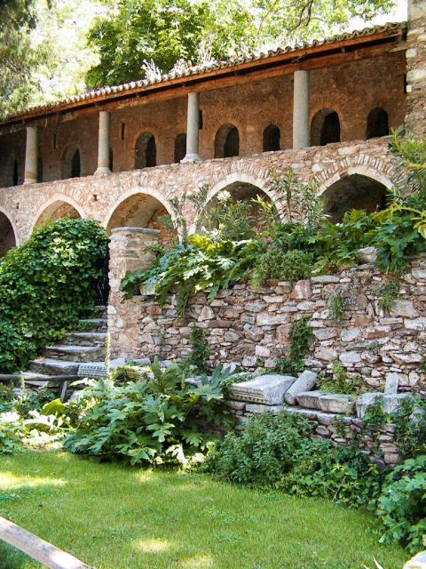 Kaisariani Monastery. Lovely nature.