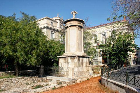 The Choragic Monument of Lysicrates.