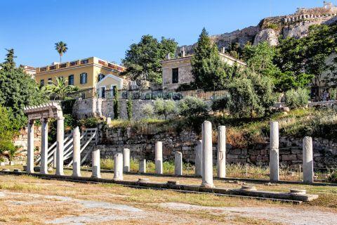 Ruins of the Roman Agora.