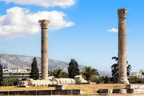 Columns of the Temple of Zeus.