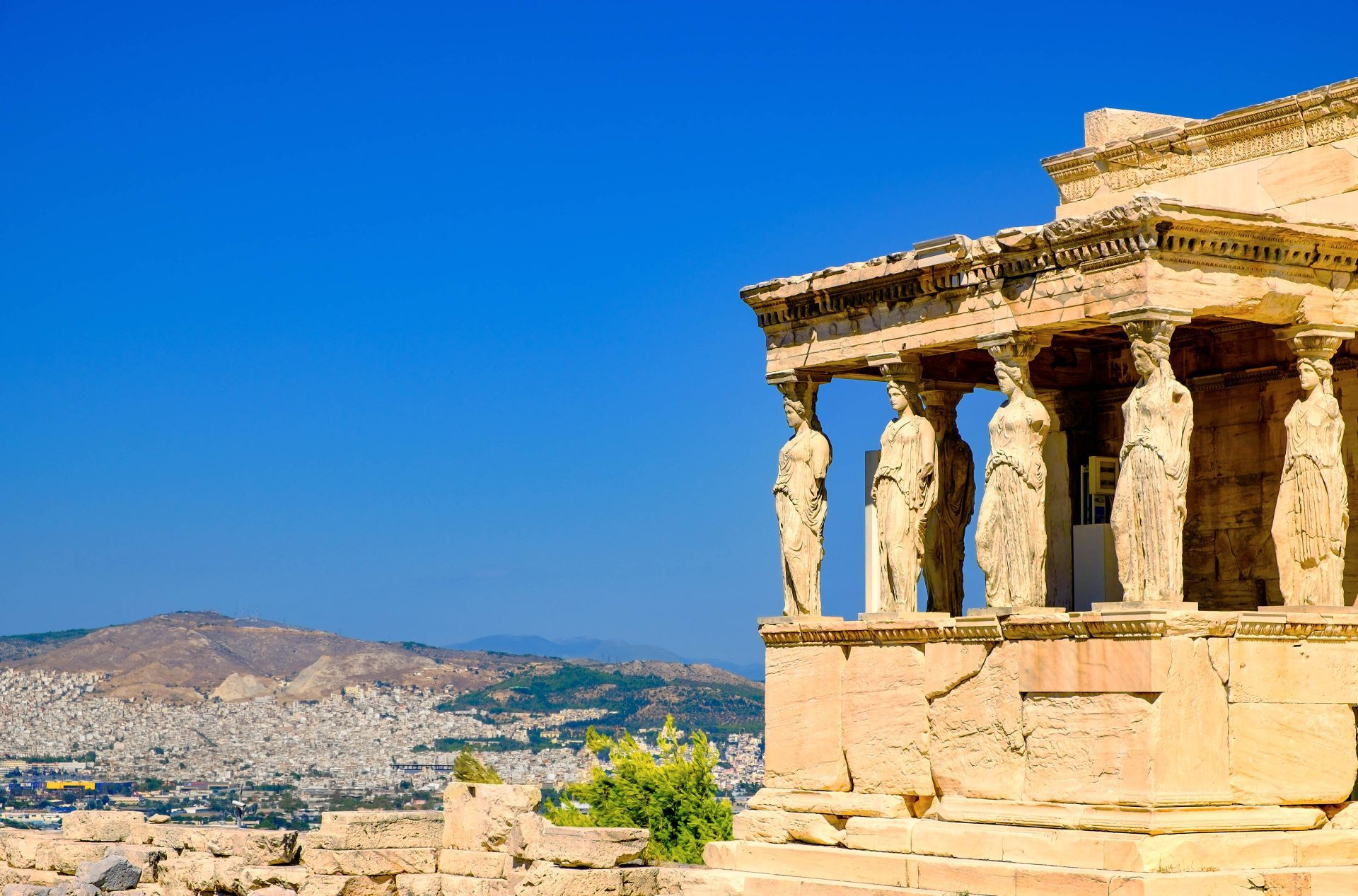 Attica Greece: Acropolis, the most famous monument in Greece