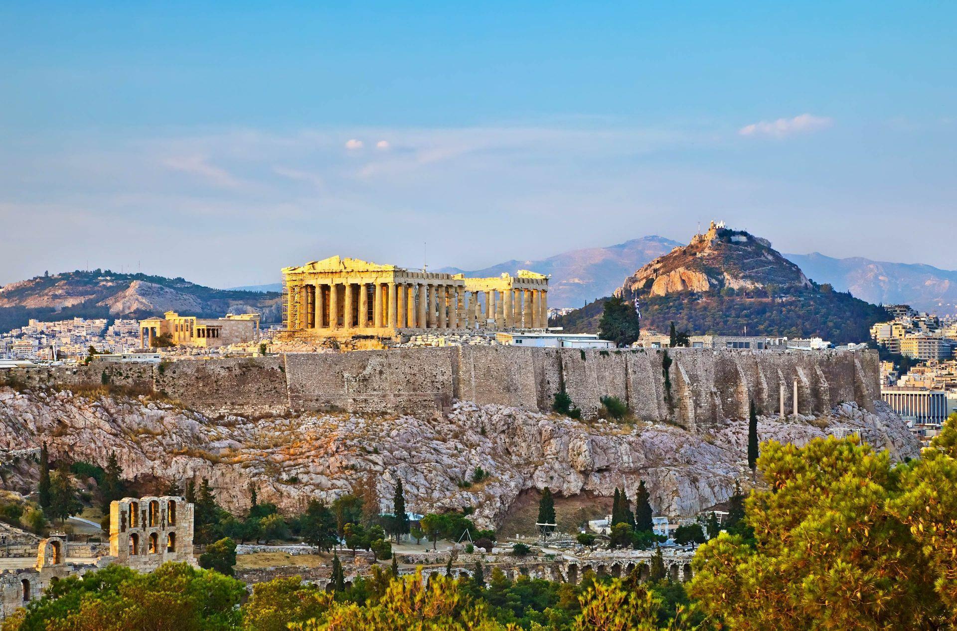 Attica Travel guide: The Parthenon of the Acropolis
