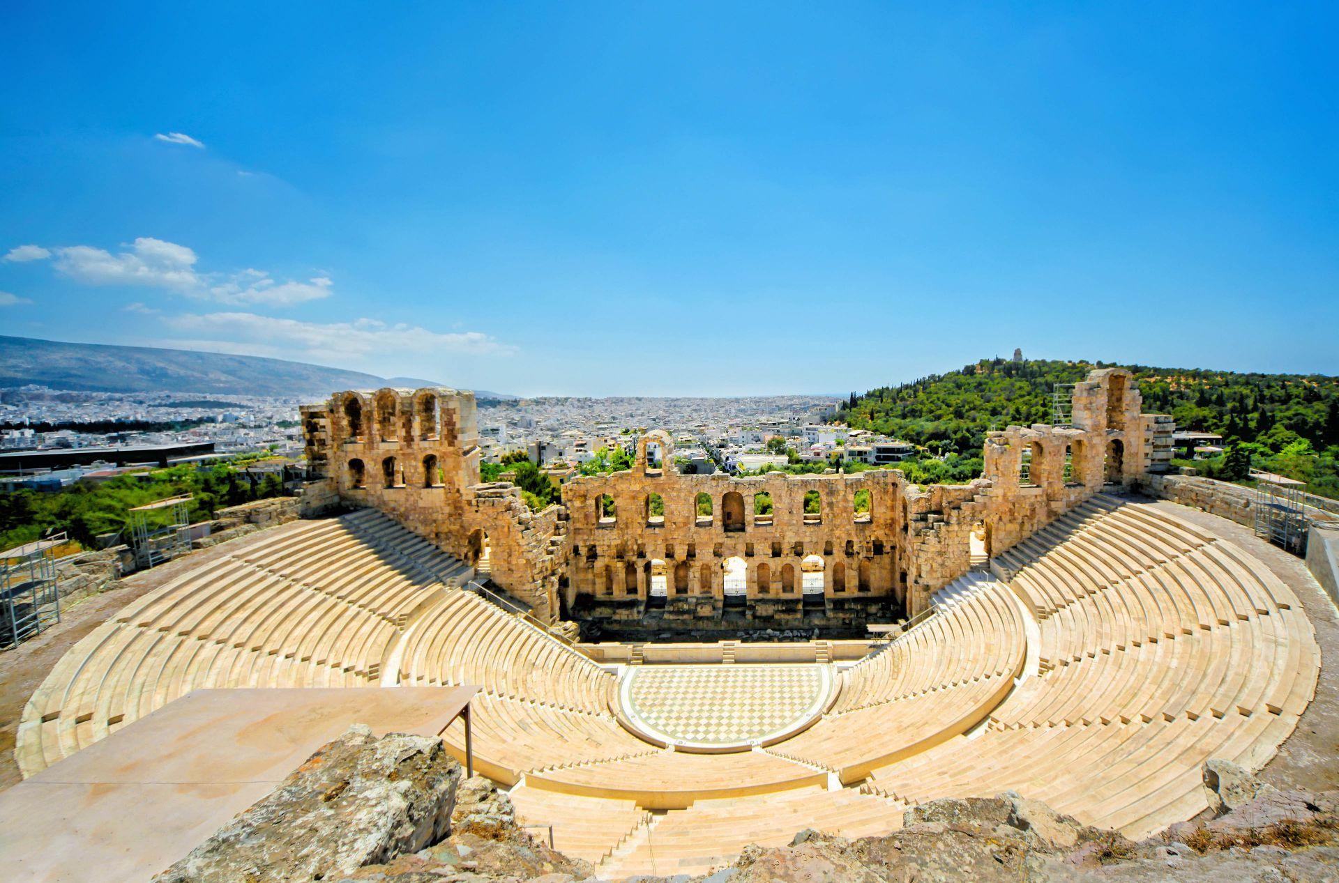Attica: The theatre of Herodes Atticus