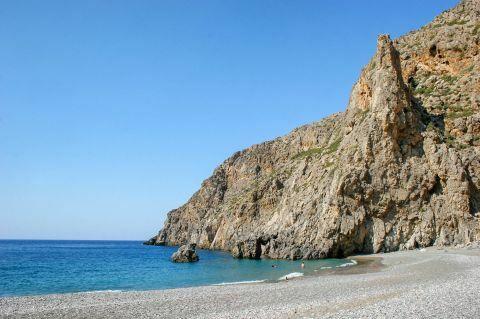 Agiofaraggo beach
