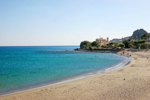 Keratokambos beach. Heraklion, Crete.