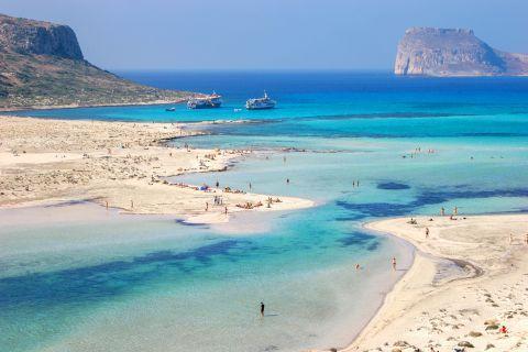Balos beach. Chania, Crete.