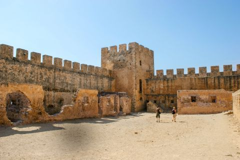 The Fortress of Frangokastello in Chania, Crete.