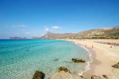 Falasarna beach, Chania.