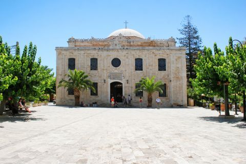 Church of Saint Titus. Heraklion, Crete.