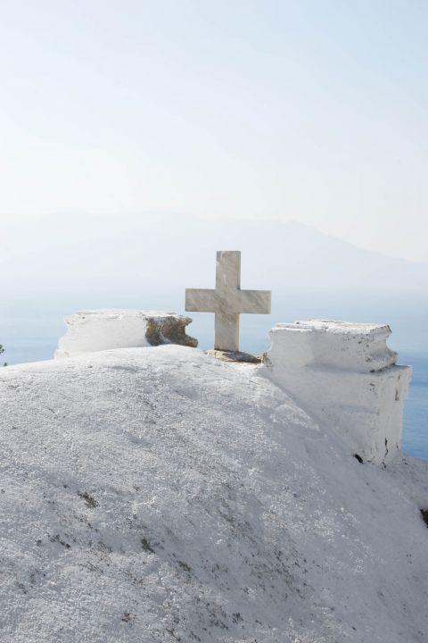 Church in Ravdouha village. Chania, Crete.
