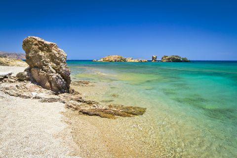 Exotic waters. Lassithi, Crete.