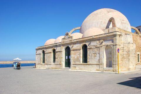 The Ottoman baths in Chania, Crete.
