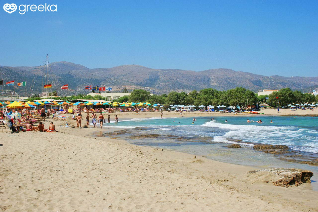 Best 32 Beaches in Heraklion, Crete island - Greeka com