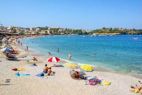 Agia Peagia beach.