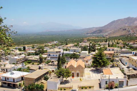 View of Harakas village.
