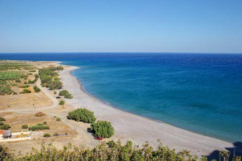 Tsoutsouros beach.