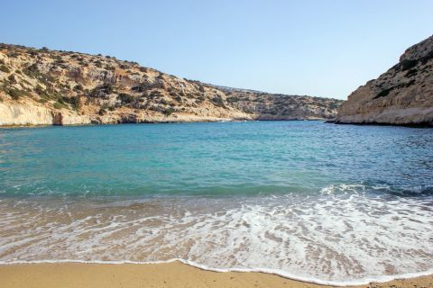 Vathy beach.