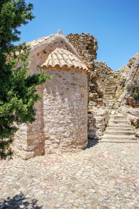 A stone-built church in Harakas village.