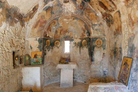 Inside the church of the Holy Trinity.