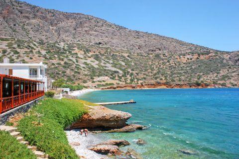 Plaka beach, Heraklion.