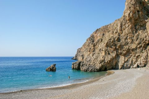 Agiofaraggo beach.