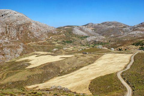 Nice landscape. Ethia village, Heraklion.