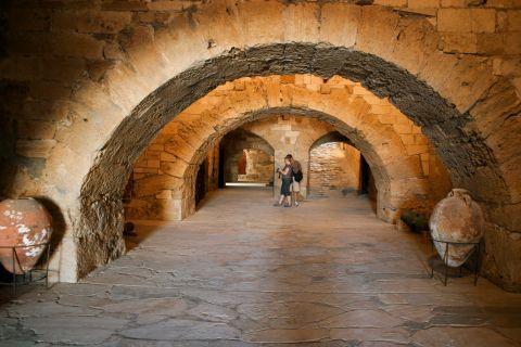 Inside Koules Fortress.
