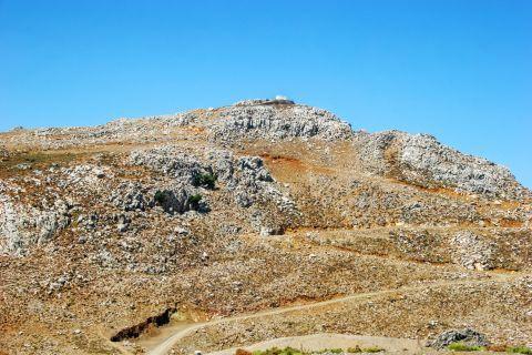 Abrupt land in Ethia village.