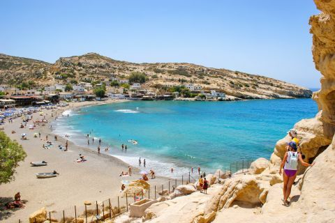 Matala beach, Heraklion.