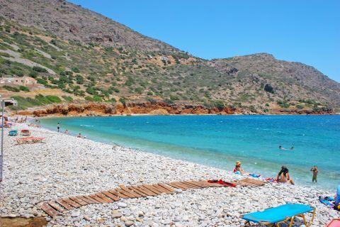 Plaka beach.