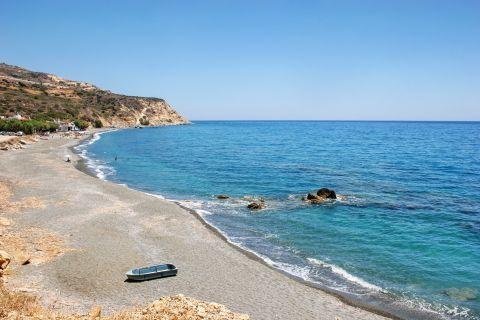 Tertsa beach, Heraklion.