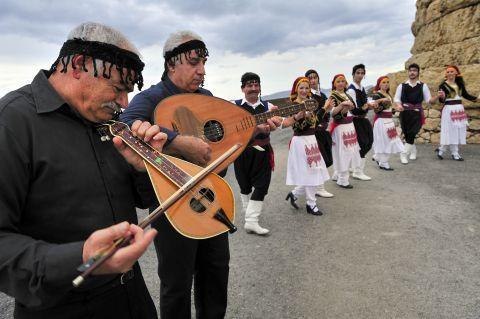 Cretan folklore.
