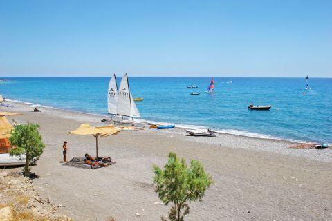 Water sport activities, Mirtos beach