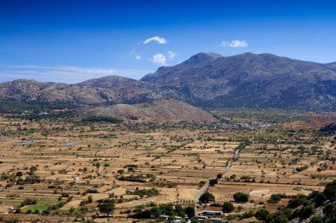 Vast plains and hills