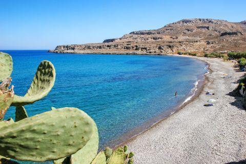 Zakros beach