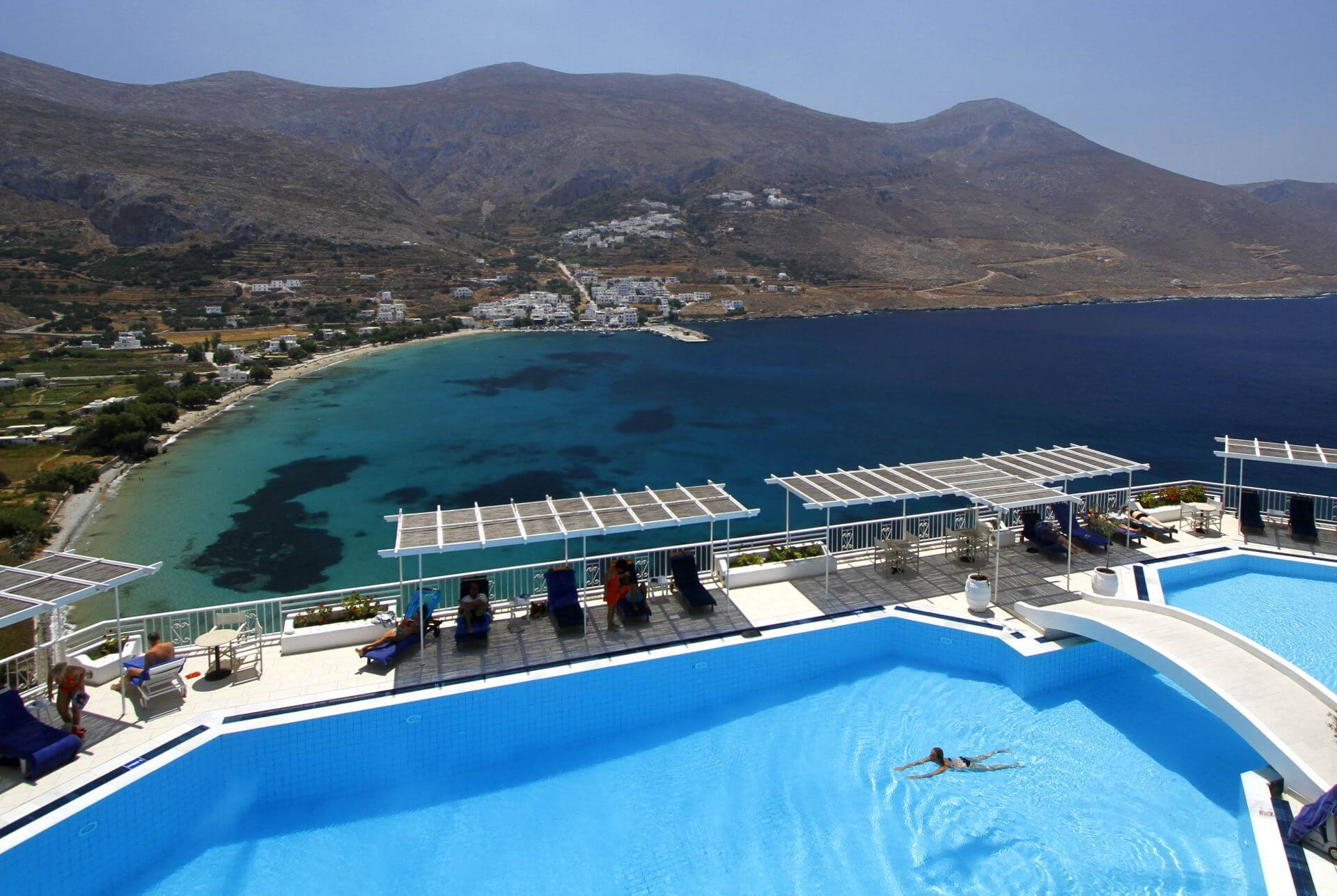 Accommodation and hotels in Amorgos