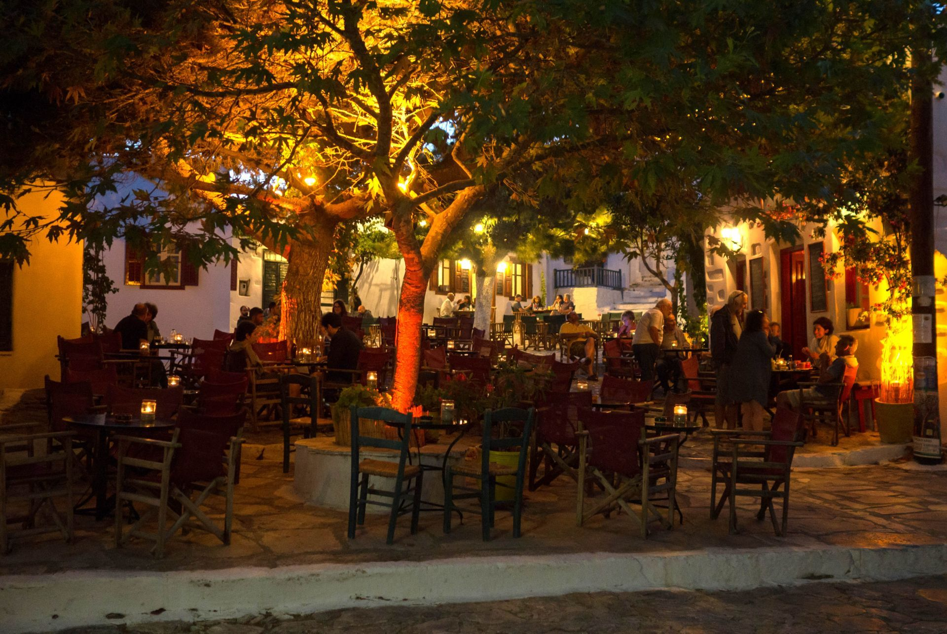 Bars in Amorgos